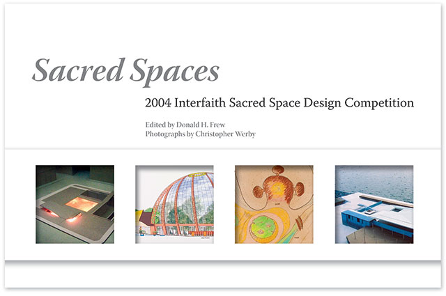 The Cover of the Sacred Spaces Book